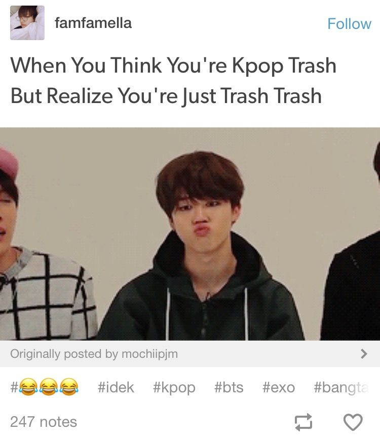 Yeah Trash Can Would Be Better Bts Memes Bts Funny Kpop Funny