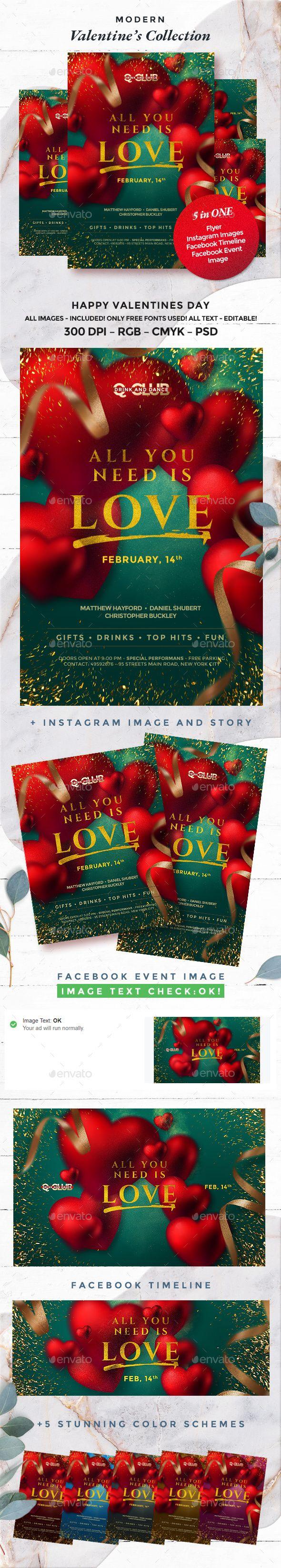Valentines Flyer Instagram Image Instagram Story