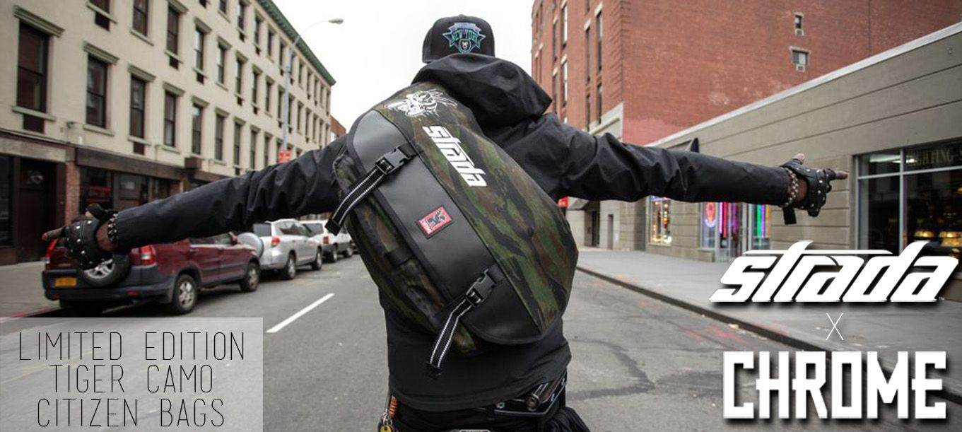 new arrival 235c5 b8a83 Camo Messenger Bag | Chrome Citizen Tiger X Strada | Luggage ...