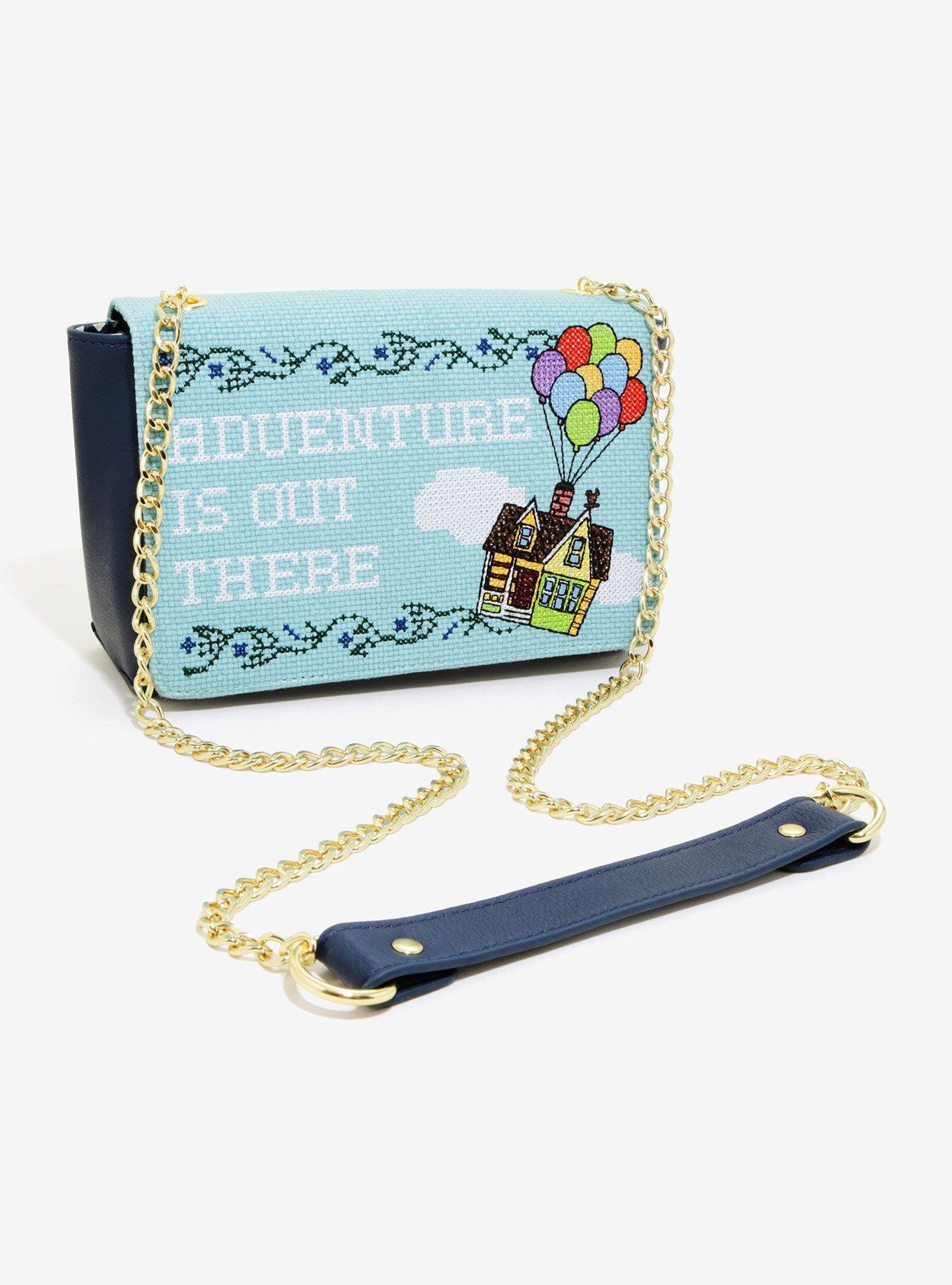 045cff78e73 Loungefly Disney Pixar Up Adventure Crossbody Bag - BoxLunch Exclusive