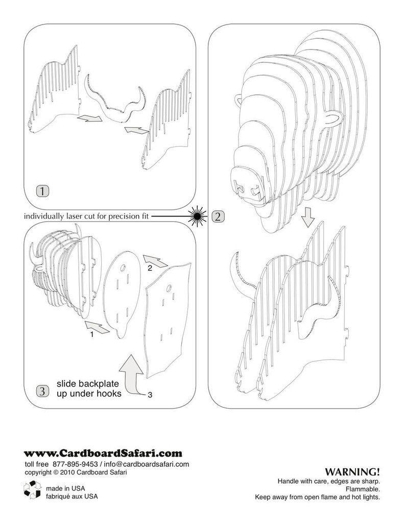 Cabeza de bisonte | Indios fiesta | Pinterest | Cartón, Trabajo ...