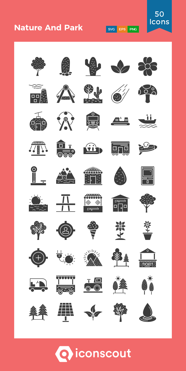 Download Nature And Park Icon Pack Available In Svg Png Eps Ai Icon Fonts Icon Pack Tree Icon Icon