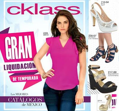 3ba364d839a Catalogo Cklass: Gran Liquidacion de Temporada PV 2017 | cklass ...