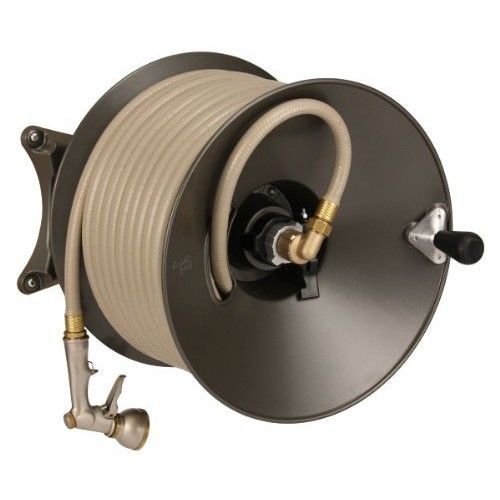 Beau Eley / Rapid Reel Wall Mount Garden Hose Reel Model 1041