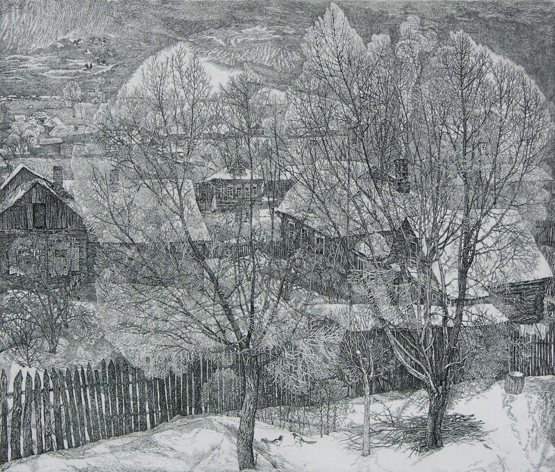 geritsel Stanislav Nikireev - wintery etchings