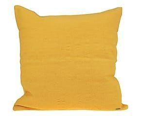 Cuscino in cotone giallo 50x50 cm Cojines, Living