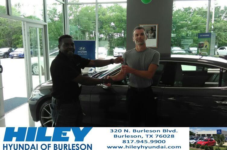 Hiley Hyundai of Burleson Customer Review Arthur Smith was
