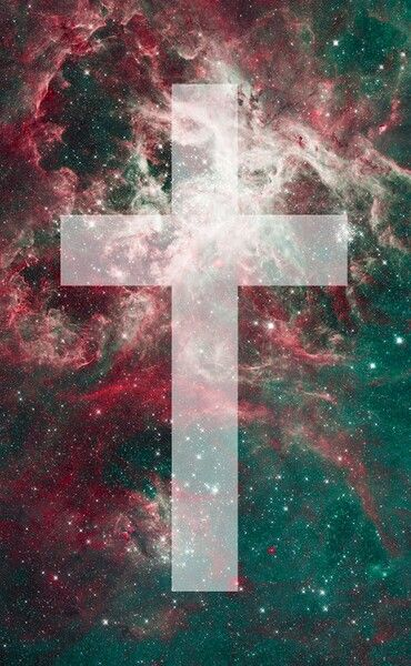Galaxy Hipster Cross Background Wallpaper Tumblr