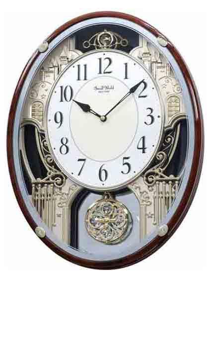 Rhythm 4mh865wd23 Chateau Musical Clock With Images Rhythm
