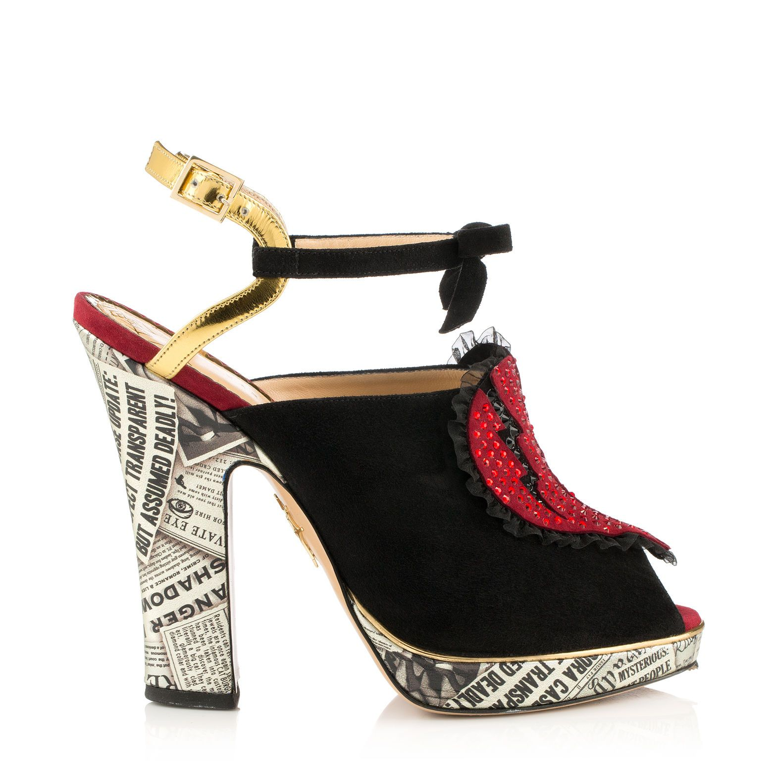 37b9db1e63 Break hearts this season in the Charlotte Olympia Killer Heels. This new  platform sandal in