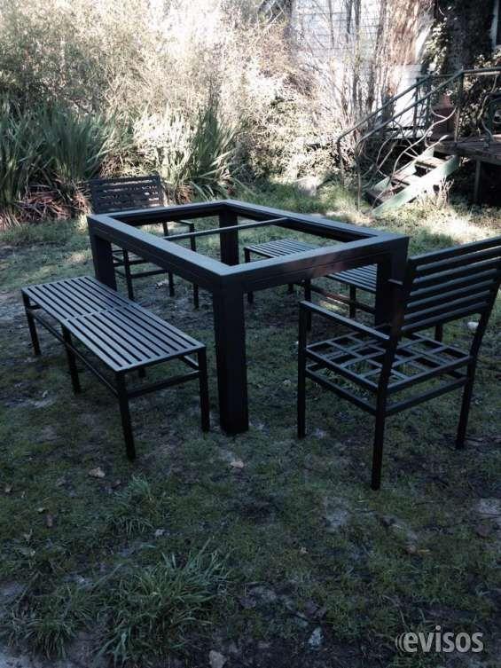 Resultado de imagen para muebles terraza fierro forjado for Muebles terraza fierro