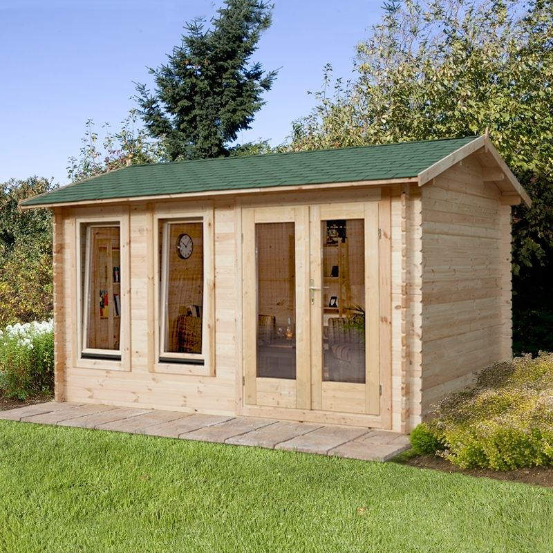 Garden Sheds 4m X 3m forest chiltern 4m wide x 3m depth wooden log cabin | log cabins
