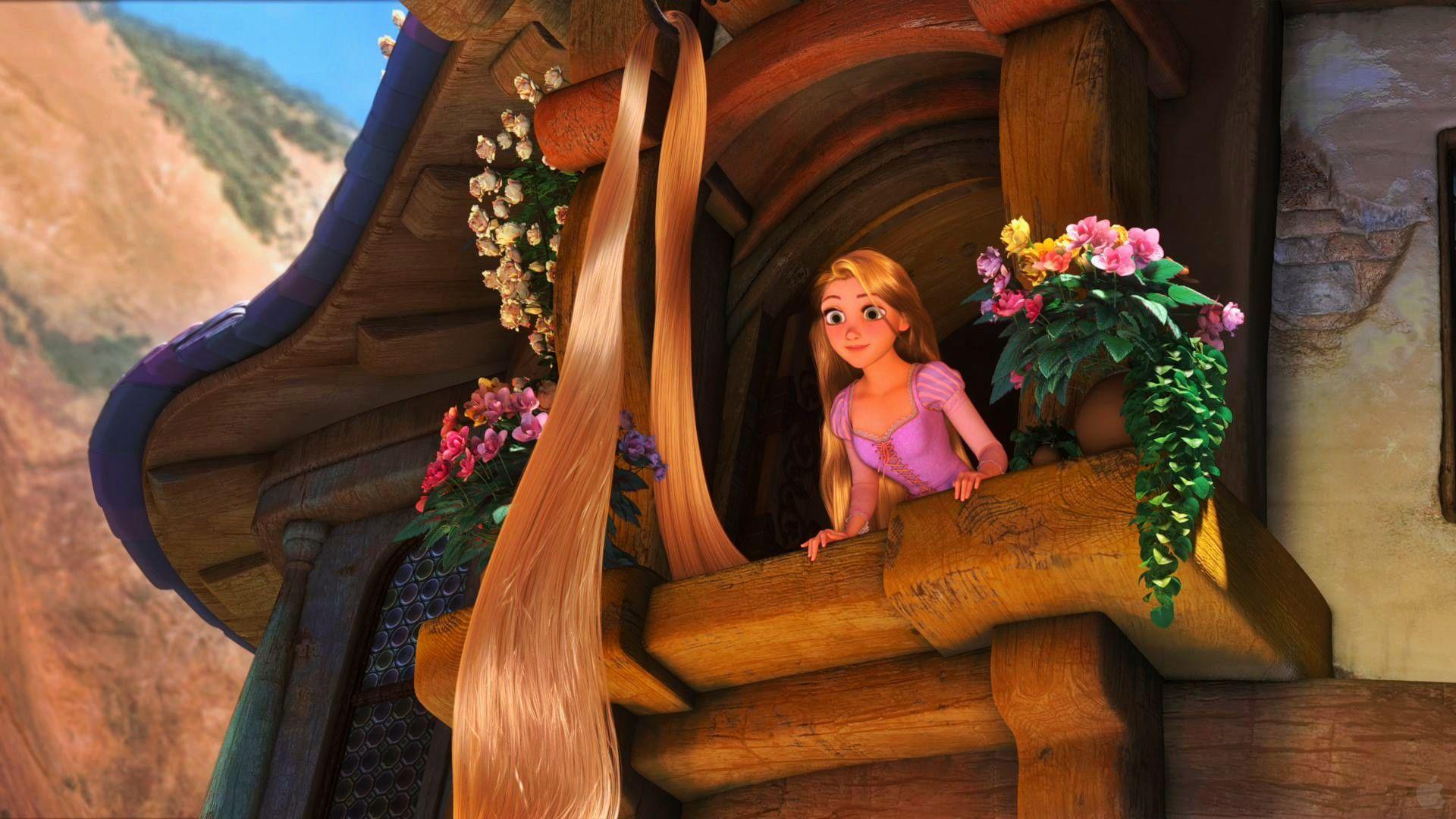 Tangled Baby Rapunzel HD desktop wallpaper : Widescreen ...