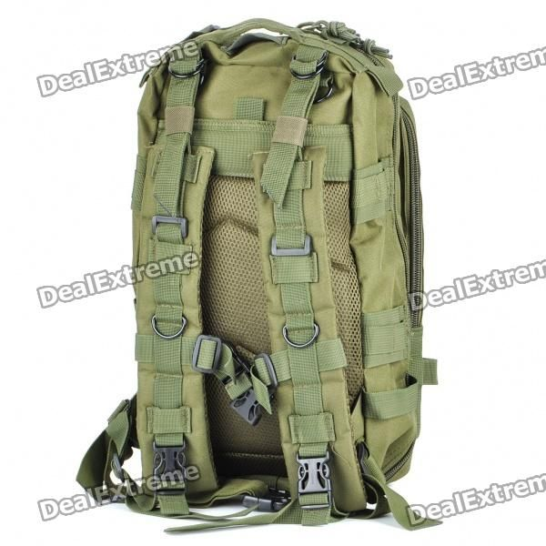 Outdoor Military War Game Multi-Function Oxford Cloth Backpack Bag - Army  Green - Free df9a8d1c05265