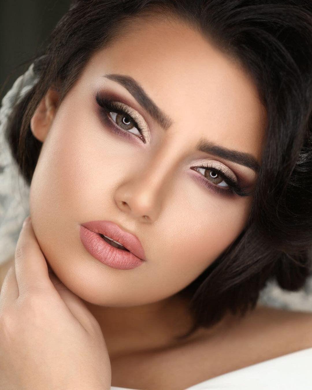 Pin by ROZA on Fashion_Iran  Wedding eye makeup, Round face