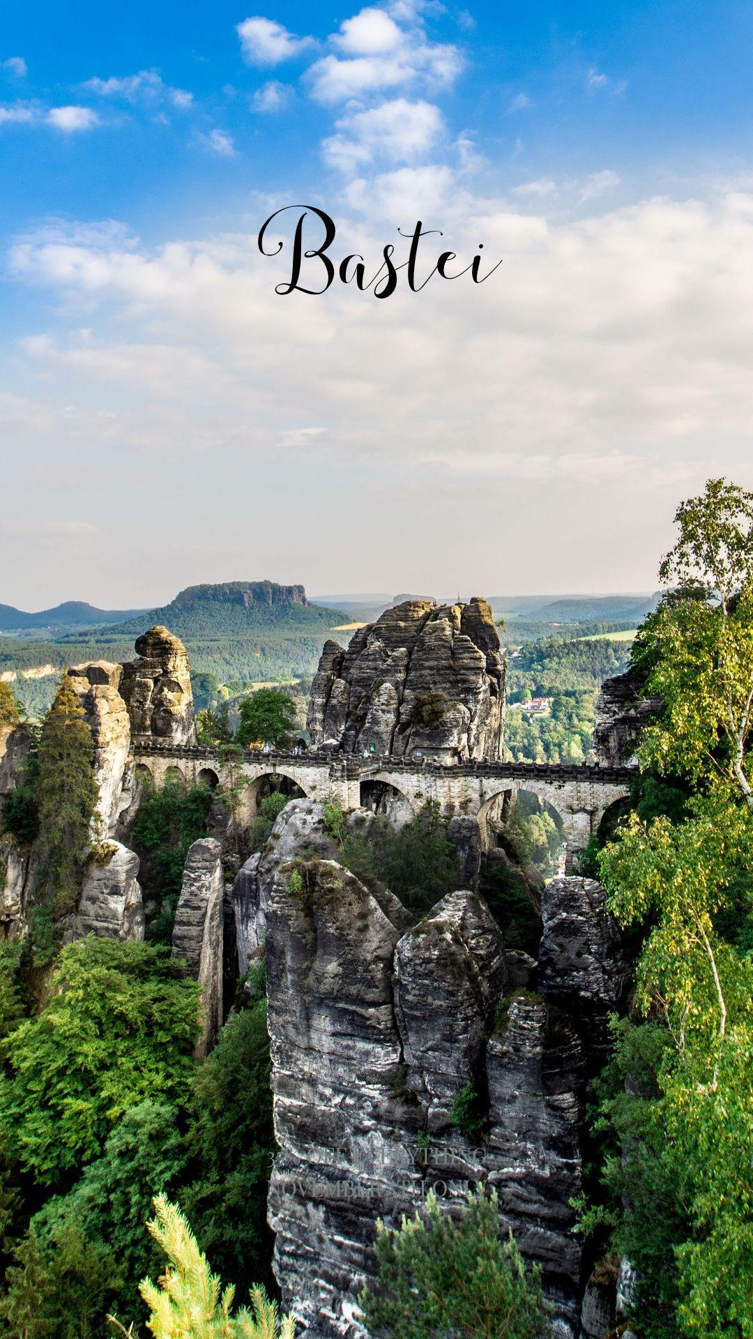 Discover Saxony Der Einzigartige Aussichtspunkt Bastei