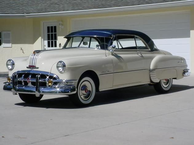 1950 Pontiac Catalina Coupe Off White 8 Cylinder Automatic