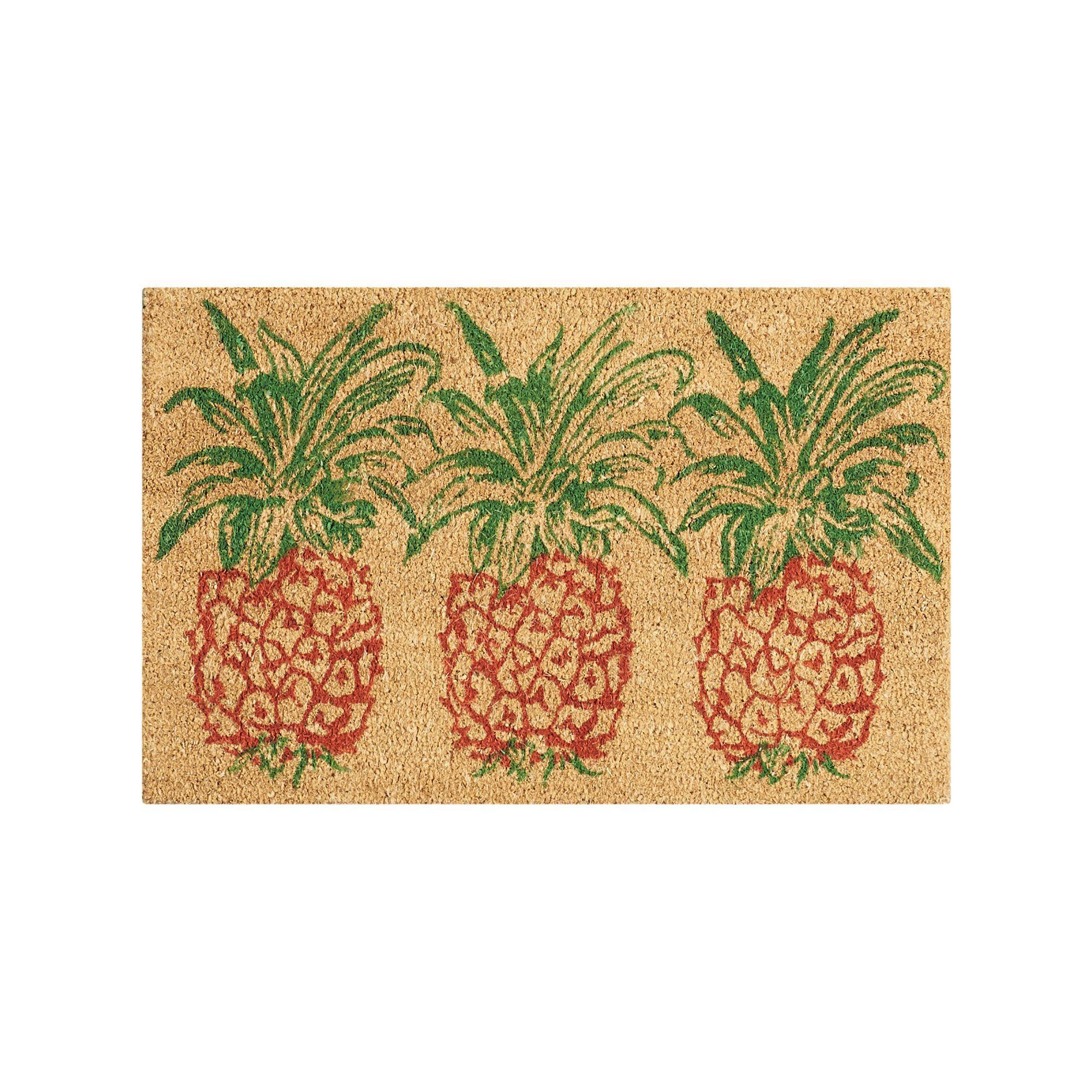Waverly greetings pineapple coir doormat orange oth coir waverly greetings pineapple coir doormat orange oth kristyandbryce Images