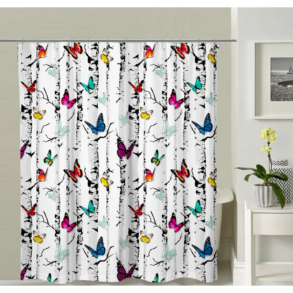 Butterflies Shower Curtain Butterfly Shower Curtain Unique