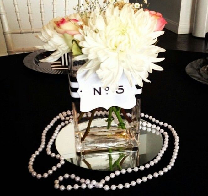 Chanel centerpieces