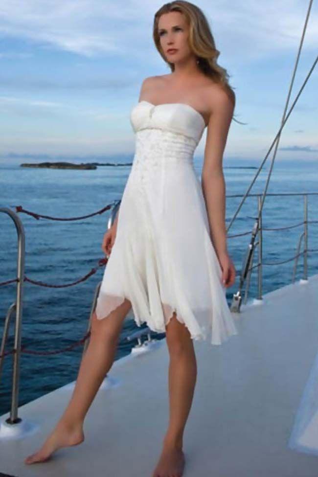 simple #short wedding dresses | Just dreaming | Pinterest | Short ...
