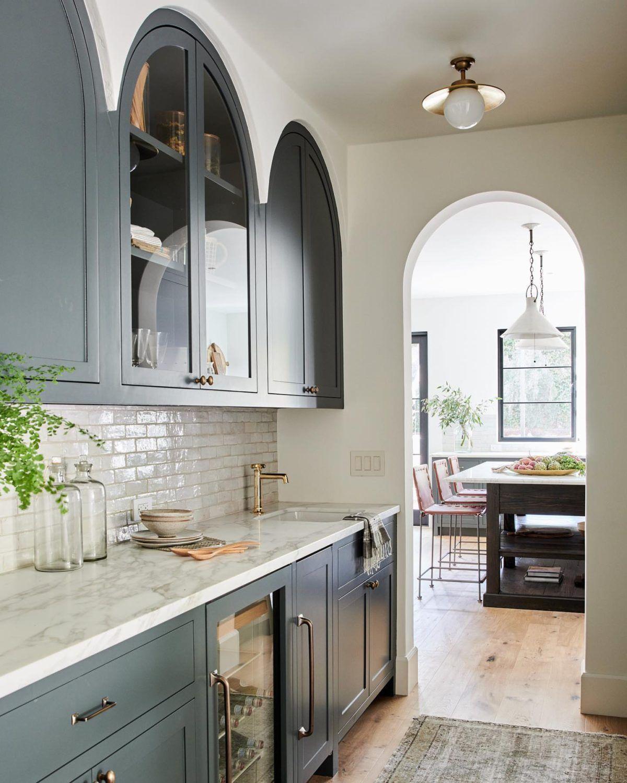 Inspiration Curved Millwork Lark Linen Home Kitchens Kitchen Design Home
