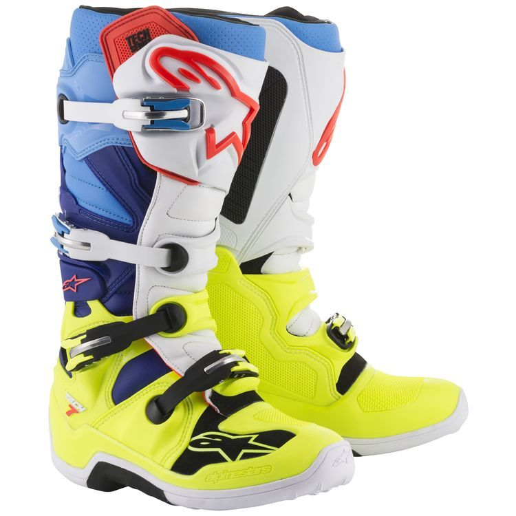 Alpine Stars Boots Tech 1 Black Riding Motocross Racing Motorcycle Men