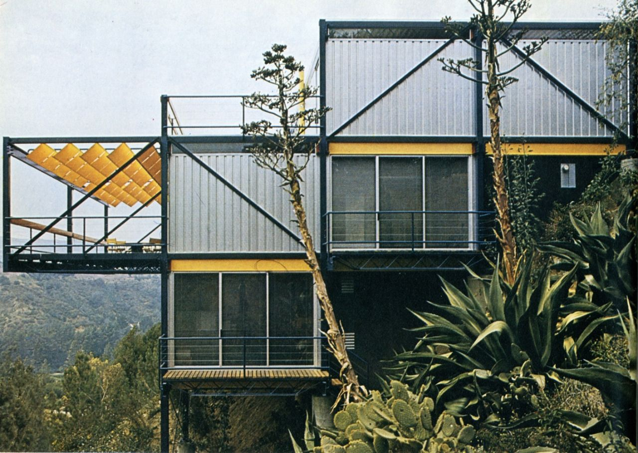 dalecurtismarshall: helmut schulitz   home of the architect, los