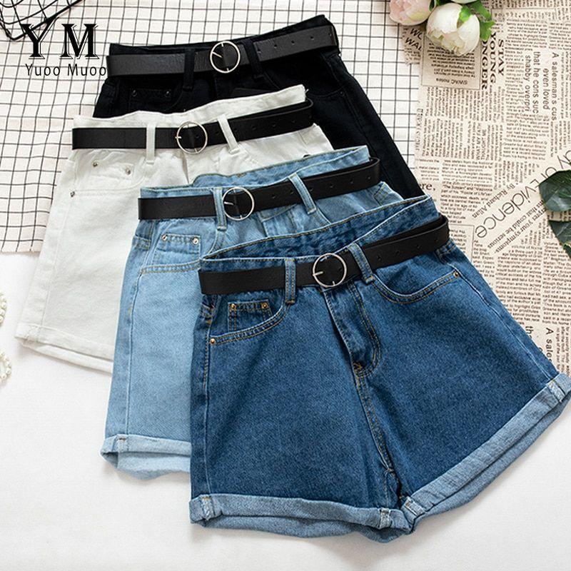 Yuoomuoo Pantalones Cortos De Vaquera Informales Con Fajas Combinables Moda De Ropa Ropa Juvenil De Moda Ropa De Moda