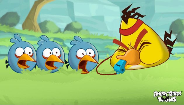 Angry Birds Toons Chuck Time