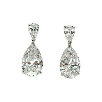 New Diamond Pear Drop Earrings Check More At Http Lascrer