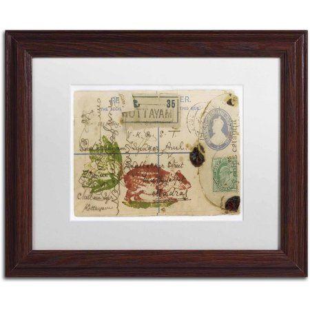 Trademark Fine Art \'Cabbagetail\' Canvas Art by Nick Bantock, White ...