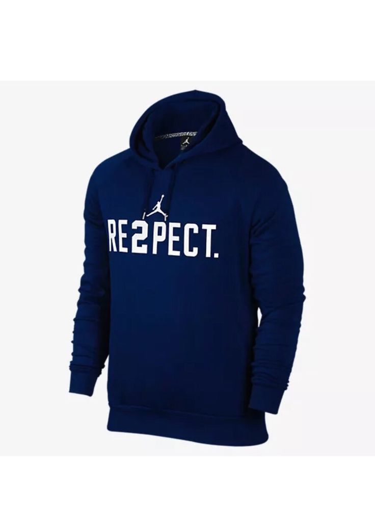 a028103cd30 Nike Air Jordan Re2pect Derek Jeter Pullover Hoodie Size XXXL 828553 419  3XL #Nike #SweatshirtsFleeces