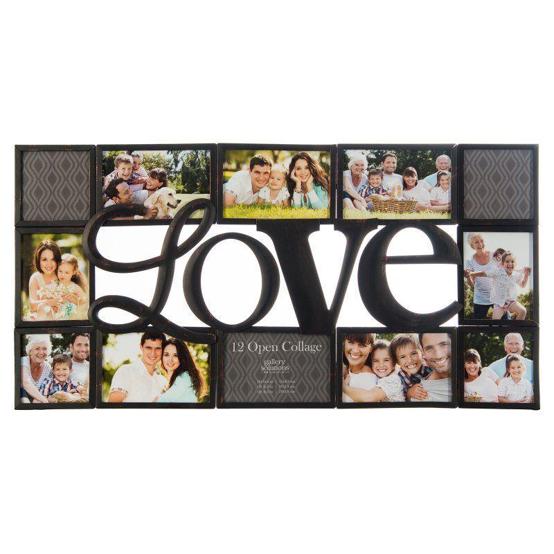 Nielsen Bainbridge Gallery Solutions Love Collage Picture Frame ...