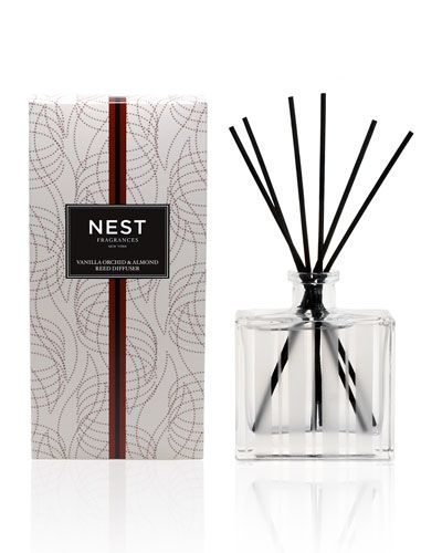 C1GHS Nest Fragrances Vanilla Orchid & Almond Reed Diffuser