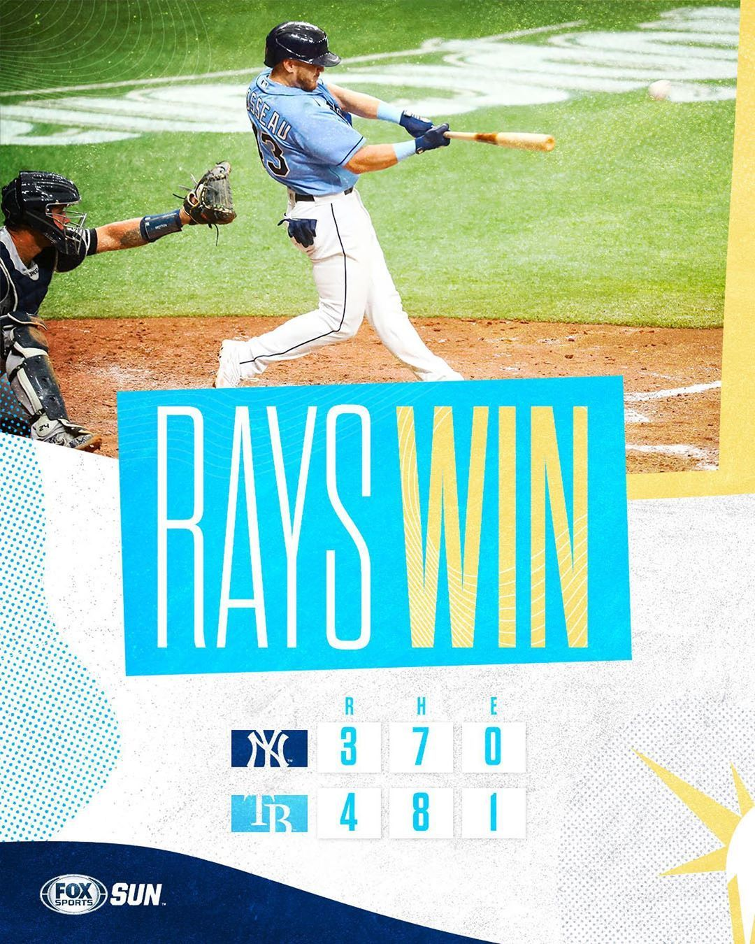 Tampa Bay Rays Rayswin Perez With A Walk Off Single To Take The Game And Series Tampa Bay Rays Tampa Bay Tampa