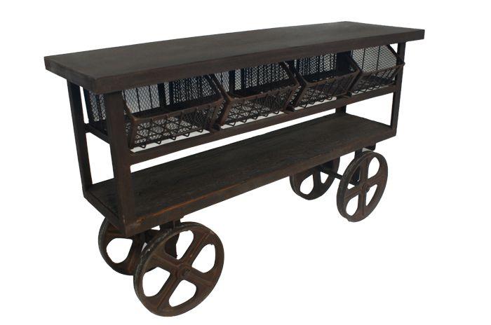 Pan asia carro auxiliar con ruedas para hosteler a y for Decoracion para hosteleria