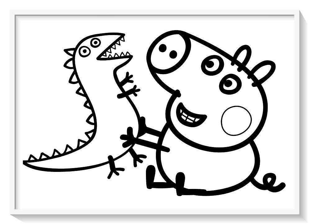 Los más lindos dibujos de PEPPA PIG para colorear y pintar ...