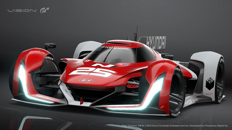 Hyundai N 2025 Vision Gran Turismo Concept Car Body