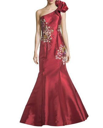 Jovani floral embroidered one shoulder evening gown gowns jovani floral embroidered one shoulder evening gown junglespirit Choice Image