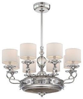 Chandelier With Built In Fan Features To Replace Ceiling Fan In