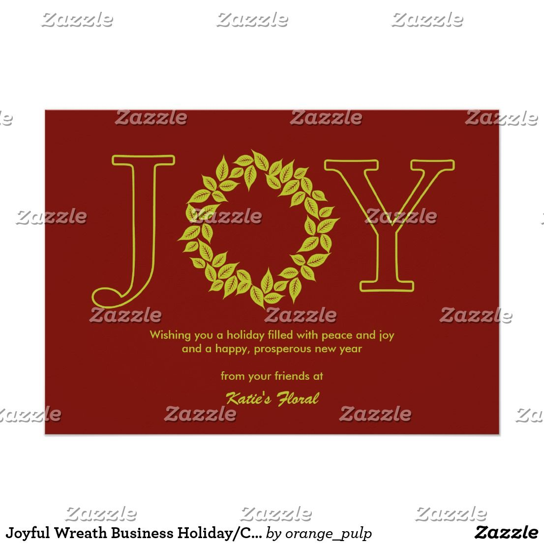 Joyful wreath business holidaychristmas cards spread some joy joyful wreath business holidaychristmas cards spread some joy this holiday season with these chic and stylish holiday cards from orange pulp design magicingreecefo Images