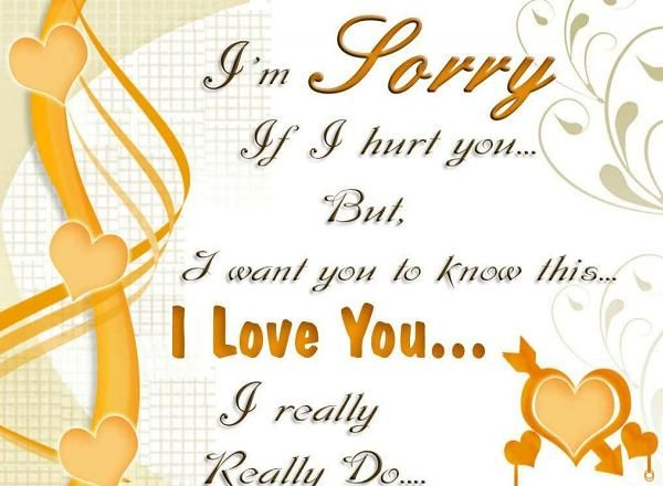 Sorry messages for husband