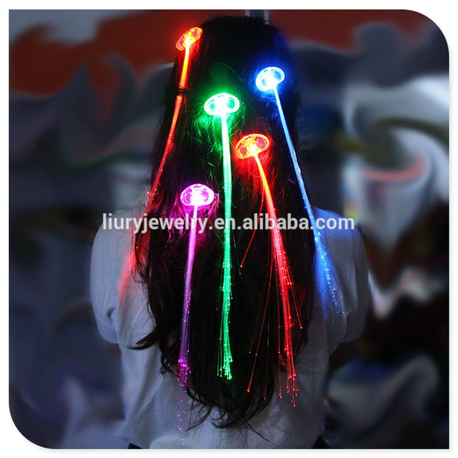 Led Hair Lights For Party Favors Light Up Toys With Flashing Hair
