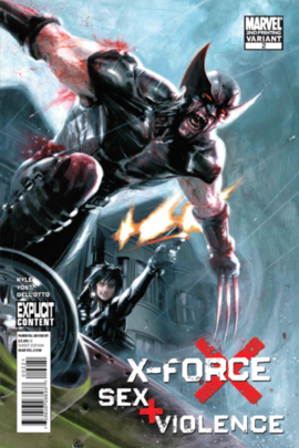 Wolverine (X-Force) | Comics | Marvel comics art, Marvel
