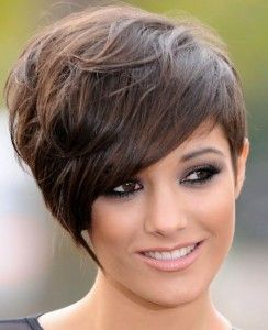women short hairstyles 2012. I wish I could where my hair like this.