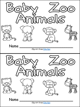 Baby Zoo Animals Nonfiction Leveled Reader Level B Kindergarten Animal Nonfiction Guided Reading Kindergarten Zoo Animals