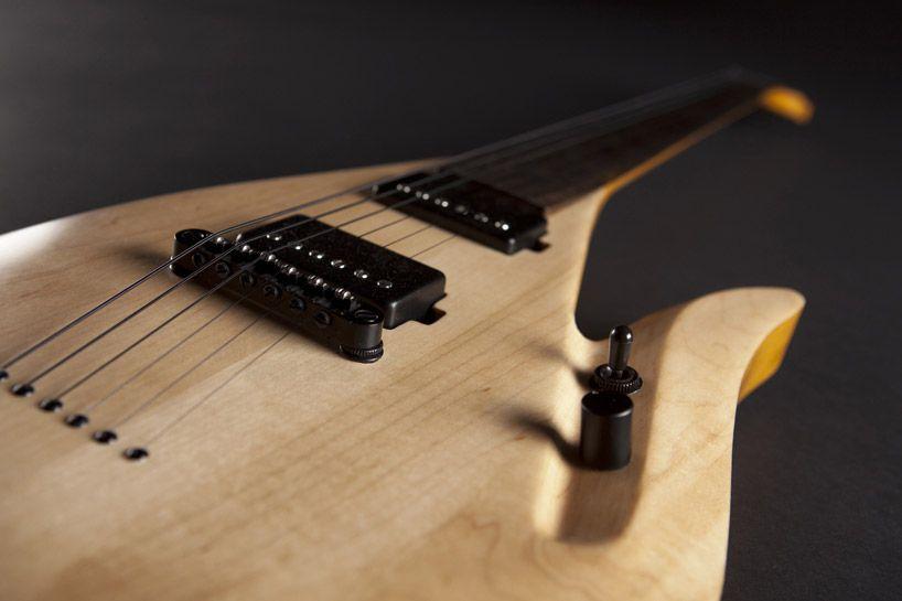 rapolas grazys lava guitar fretless electric