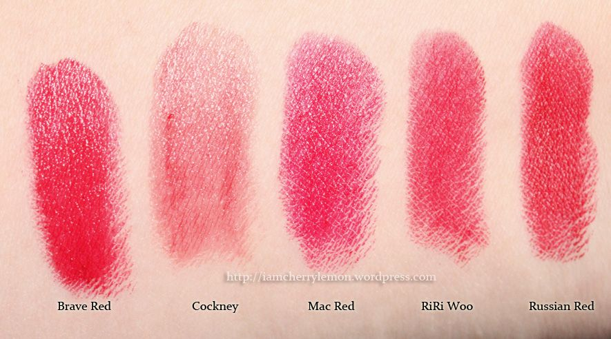 What I like about MAC Lipstick Brave Red