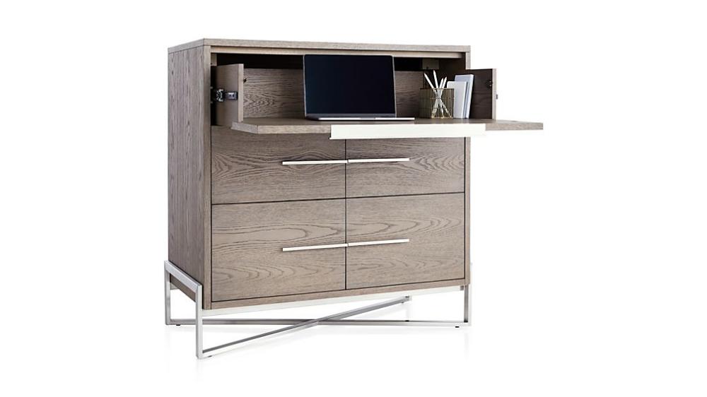 Covert Grey Secretary Desk Reviews Crate And Barrel Secretary Desks Modern Secretary Desk Vintage Secretary Desk